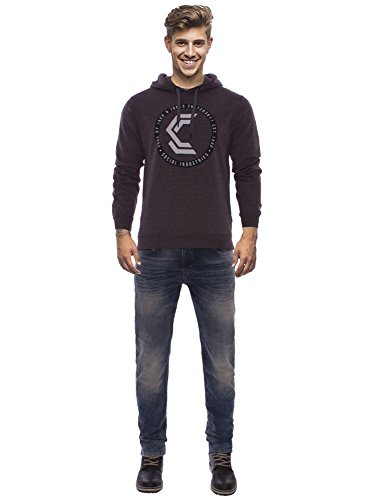 CORE by JACK & JONES Herren Hoodie Braun (fudge)