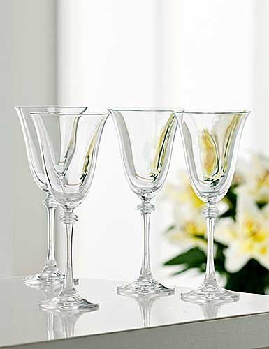 Liberty Goblet (Set of 4) by Galway Crystal Crystal Goblet Set