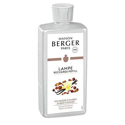 Lampe Berger 116022 Paris Raumduft Poussière d'Ambre Amber, 1 L... -