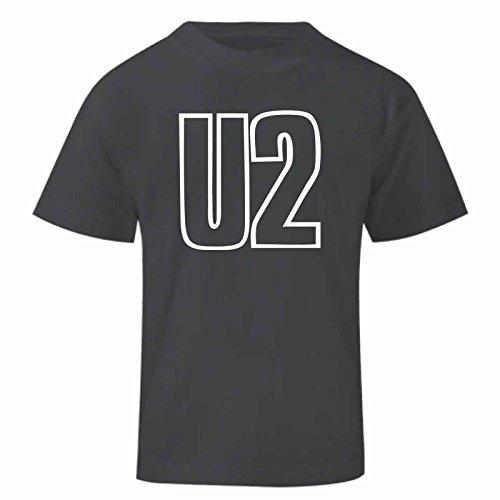 Art T-shirt, Maglietta U2, Bambino, Nero, 11-12 Anni, usato usato  Spedito ovunque in Italia