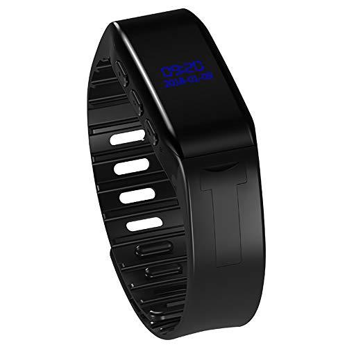 TBY Aufnahme Stift Smart Hand Ring Recorder Mini Watch Motion HD Rauschen MP3-Player Für Konferenz Klassenzimmer Memos Etc,16GB
