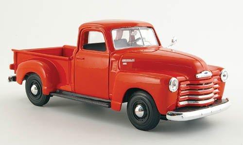 Chevrolet 3100 Pick Up, rot, 1950, Modellauto, Fertigmodell, Maisto 1:24