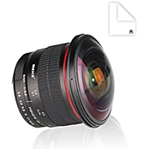 Meike 8mm f/3.5 Ultra HD Fisheye Lens for Nikon APS-C DSLR