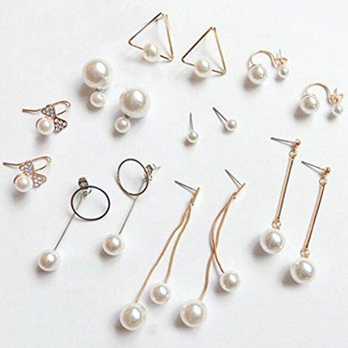 8 paires belle boucle d'oreille femmes oreille Stud mode boucles d'oreilles filles mignon boucle d'oreille -A7