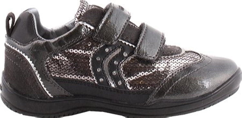 Geox Damen Sneaker Dk Grey 2018 Letztes Modell  Mode Schuhe Billig Online-Verkauf