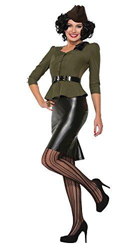 m Novelties x76683Rakete Millie 1940er-Kostüm (UK 10–12) (1940er Jahren Fancy Dress Kostüm)
