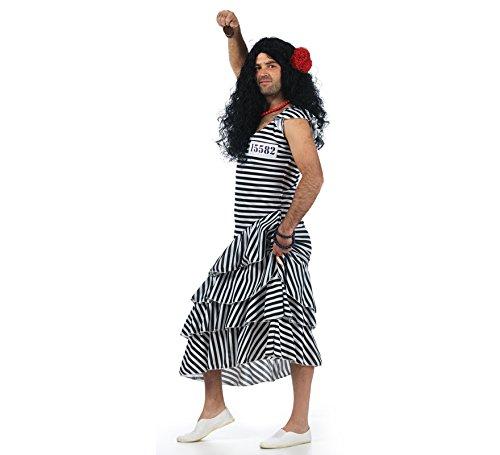 Beute Flamenca - Sexy Kostüm Jailbird