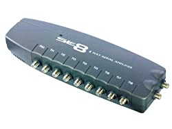Slx 8-way F Connectors Aerial Amplifier