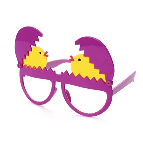 reier Gläser Brillen Eier Shaped Glasses Eyewear Requisiten Ei Küken Party Brille Erwachsene Kinder Geschenk (Halloween Partyartikel Zu Machen)