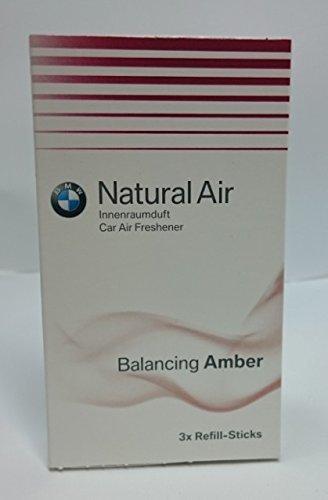 BMW - Ricarica originale Natural Air, Balancing Amber, 3 pezz