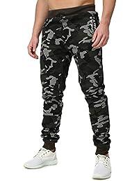 Geographical Norway Hombres Bequeme Pantalone de Jogging MYCAMO camuflaje Busque con Rippbund Bolsillos exteriores