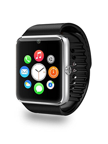 Smartwatch Android, Willful® Smart Watch Telefono Bluetooth Fitness Tracker Watch con SIM Slot Fotocamera Orologio Intelligente Universale per iPhone Samsung Huawei per Outdoor Running Sport Donna Uomo