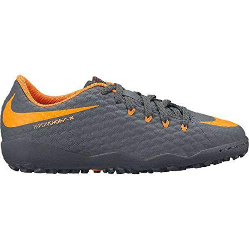 new styles 16bab 363a2 Nike Unisex-Kinder Jr Phantomx 3 Academy Tf Fitnessschuhe, Mehrfarbig (Dark  Grey/