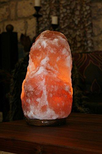 Stein Lampe Salzlampe Leuchte ca. 13- 18 kg in 1A Qualität ()