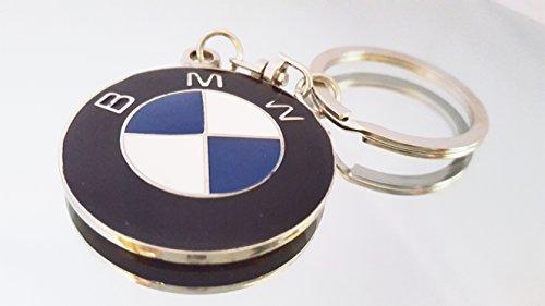 Valentinstag Bmw (BMW Beemer Car Logo Metall Schlüsselanhänger Ring Schlüsselanhänger mit Geschenk Beutel [s01ss])