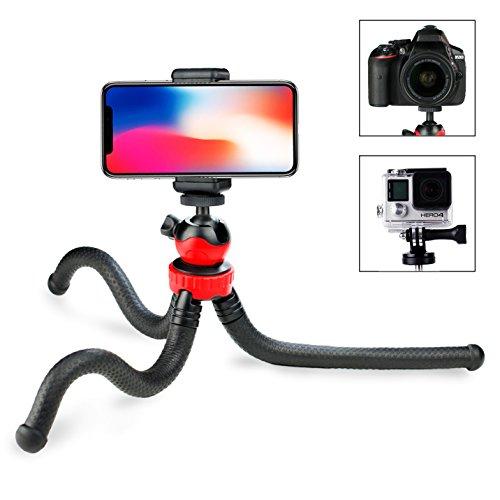 Handy Stativ, Prowithlin® Flexibles Gorilla iPhone Stativ für Smartphone, GoPro und Kameras