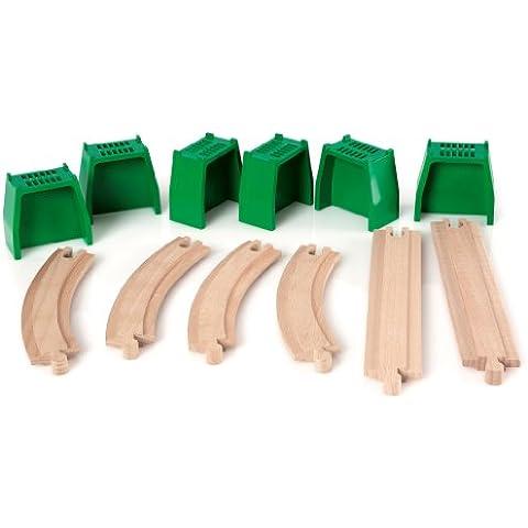 BRIO 33304 parte y accesorio de juguet ferroviario - partes y accesorios de juguetes ferroviarios (Rastrear, BRIO, 3 Año(s)) Verde,