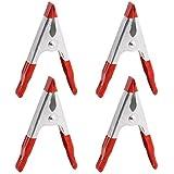 Wolfpack 5360155 - Juego Pinzas Sujeccion 100 mm 4 Piezas