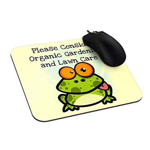 lasjas Gemüse Gartenarbeit, Rasenpflege, Veggie, Gärten frogtablet Mauspad Gaming Mousepad Speziell angepasstes Computer Maus Pads zazer Mauspad rutschfest Gummi, 23,5x 19,7cm