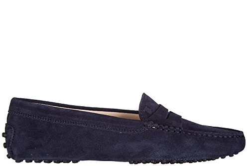 tods-damen-wildleder-mokassins-slipper-gommini-blu-eu-40-xxw00g00010re0u824