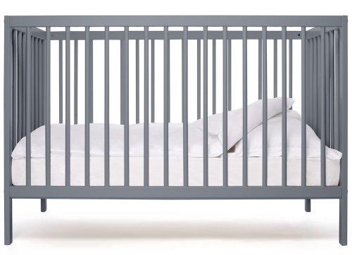 Babybett-kinderbett- Kombi-Kinderbett - moKee -stone blue -Ökologisch