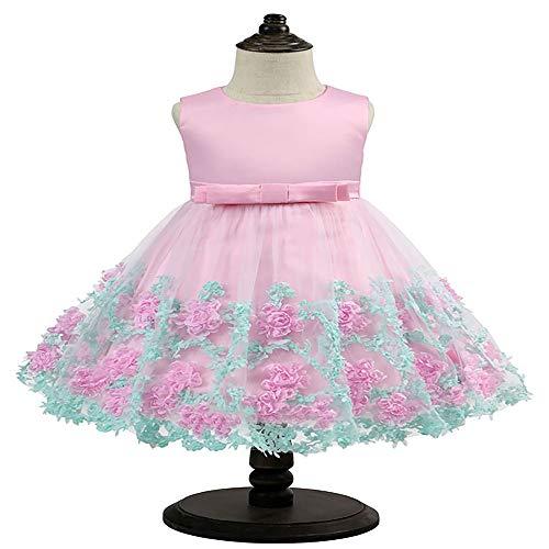 Halloween'licorne' Kostüm - COCKE Kinder Kleid Prinzessin Kleid Bowknot Weihnachtsfeier Kleid Halloween kostüm Blume fee Flauschigen Rock geeignet for mädchen (Size : 70)