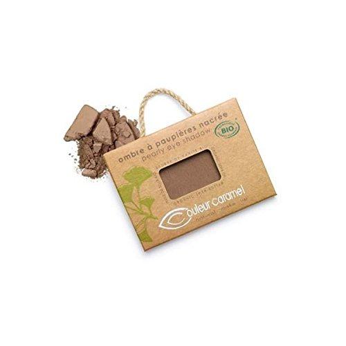 Couleur Caramel Ombre à paupières n°67 chocolat cuivré nacré 2.5g