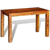 VidaXL-Tavolo da pranzo in legno di Sheesham,