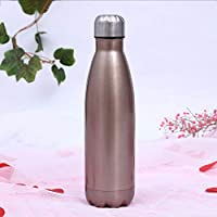 ZXZXZX Stainless Steel Water Bottle 500ml/750ml/1000ml, metal water bottle, Insulated Stainless Steel Water Vacuum Bottle Flask Double-Walled for Outdoor Sports Hiking Running