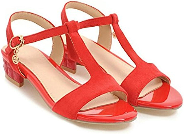 HUAIHAIZ Tacones de mujer Elegante cool zapatillas hembra sandalias de tacón zapatillas zapatos fuera noche,39... -