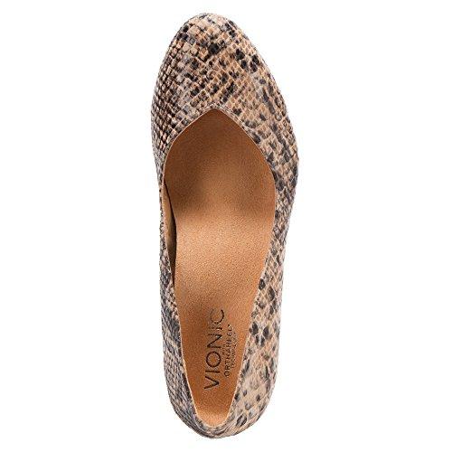 Orthaheel , Sandales pour femme Multicolore - Motif peau de serpent Blanc