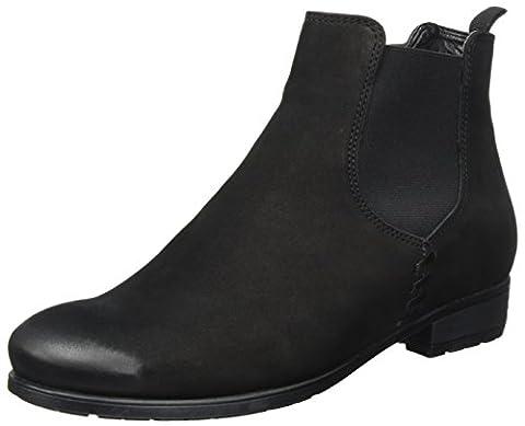 ara Damen Chelsea Boots Chelsea Boots Yale-St, Schwarz (Schwarz), Gr. 39 (UK 6)