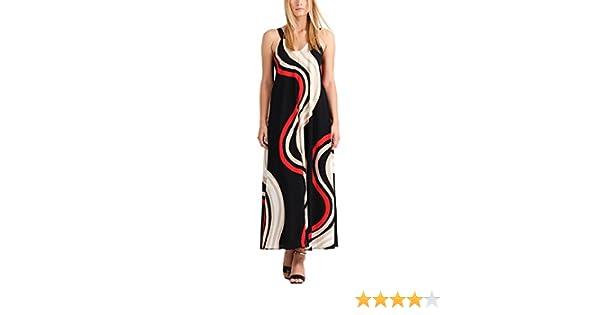 Black Begins Damen Creme Fashion Salsa FashionSummer Apart Red Kleid 3LjA5q4R