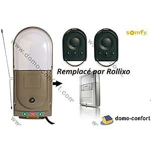 SOMFY - Motorisation pour porte de garage enroulable FREEROLL RTS kit premium Somfy - 1841122