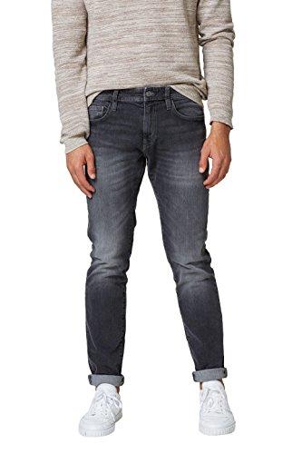 ESPRIT Herren Slim Jeans 028CC2B005, Grau (Grey Dark Wash 921), 38/32