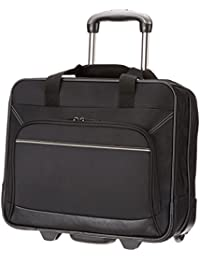 AmazonBasics Rolling Laptop Case on Wheels - Fits Most Laptops up to 16""