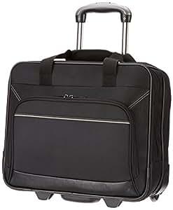 """AmazonBasics Laptop ZH1310215R3 -Rollkoffer / Trolley für Notebooks bis 16"""",Schwarz"""