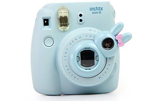 TaiYaun Mini Selfie Objektiv für Fujifilm Instax Mini 8 / 8+/ Fujifilm Instax Mini 9 / Fujifilm Instax Mini 7s (Blau ,Mini8/ Mini 7SKaninchen)