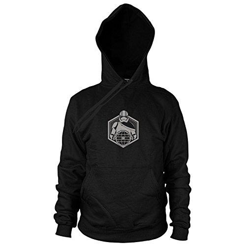 Preisvergleich Produktbild Phasma Icon - Herren Hooded Sweater, Größe: M, Farbe: schwarz