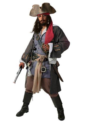 (Plus Size Realistic Caribbean Pirate Fancy Dress Costume 2X)