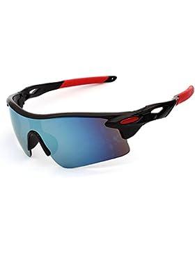 jiele gafas de sol para hombre, Sport Gafas de sol al aire libre, moda gafas de sol, UV400protección gafas para...