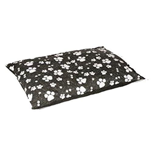 Animal Instincts Matelas pour Chien Noir Pattes Taille S 15 cm x 100 cm x 75 cm 2500 g