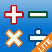 AB Math lite - jeux de calcul mental pour les enfants et les grands : addition, soustraction, tables de multiplications