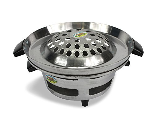 Traditionelle Metall Thai, Laos, koreanisch Grill, 28 cm (Bbq-korea)