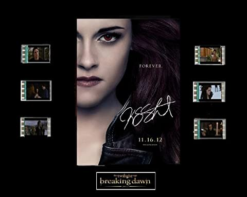 Twilight Breaking Dawn Part 2 Film Cell Presentation: Bella by Everything But That