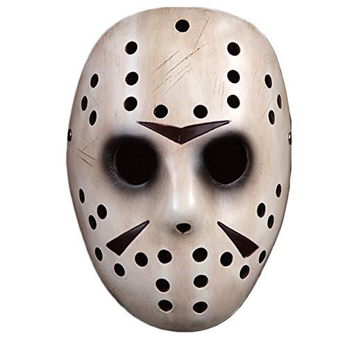 Weißer Jason Voorhees, Halloween-Maske, Spukhaus-Kostüm spielt Maskerade-Maske,