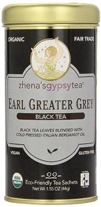 Zhena's Gypsy Tea, Earl Greater Grey, 22 Count Tea Sachets