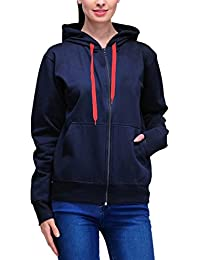 Scott International Women's Cotton Sweatshirt with Zip