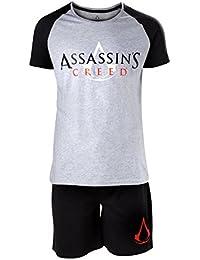 Assassin's Creed Logo Pyjama noir/gris