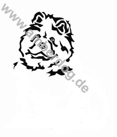 chow-chow-dog-long-hair-wall-sticker-no-tk0120-plastic-120-x-115-cm